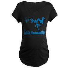 NACI DRAGON_BLUE2 SAMPLE Maternity T-Shirt
