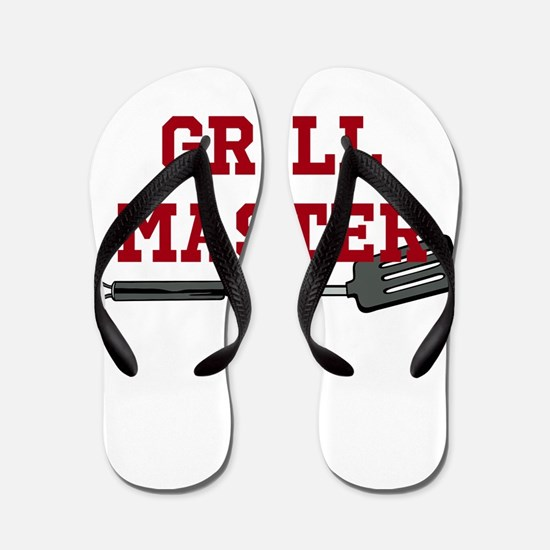 Grill Master Spatula in Red Flip Flops