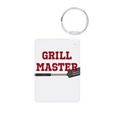 Grill Master Spatula in Red Keychains