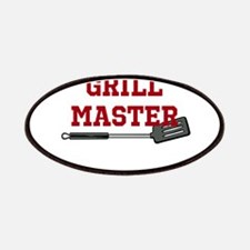 Grill Master Spatula in Red Patches