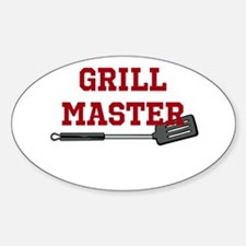 Grill Master Spatula in Red Decal