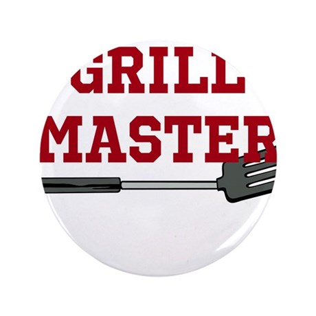 """Grill Master Spatula in Red 3.5"""" Button (100 pack)"""