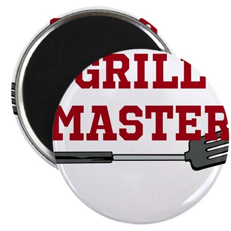"Grill Master Spatula in Red 2.25"" Magnet (100 pack"