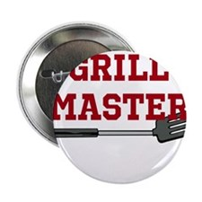 """Grill Master Spatula in Red 2.25"""" Button (100 pack"""