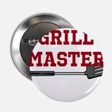 "Grill Master Spatula in Red 2.25"" Button"