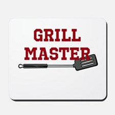 Grill Master Spatula in Red Mousepad