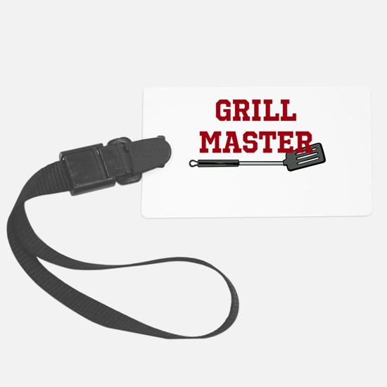 Grill Master Spatula in Red Luggage Tag