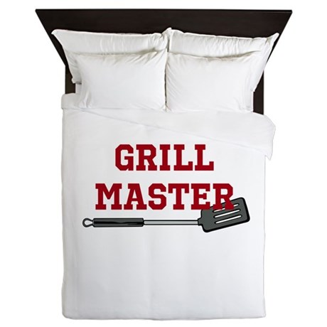 Grill Master Spatula in Red Queen Duvet