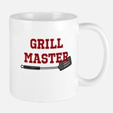 Grill Master Spatula in Red Mug
