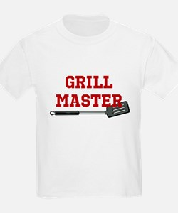 Grill Master Spatula in Red T-Shirt