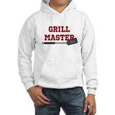 Grill Master Spatula in Red Hoodie