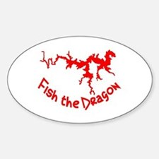 FISH THE DRAGON Decal