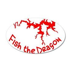 FISH THE DRAGON Wall Decal