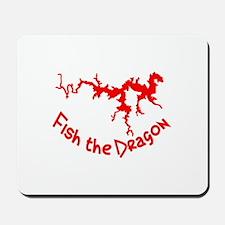FISH THE DRAGON Mousepad