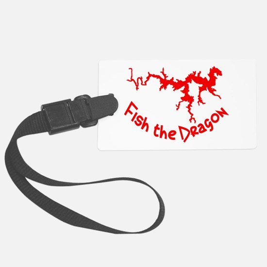 FISH THE DRAGON Luggage Tag