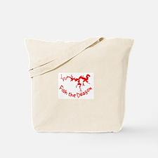 FISH THE DRAGON Tote Bag