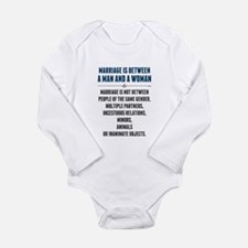 Marriage In America Body Suit