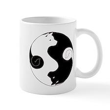 Ying Yang Akita Mug