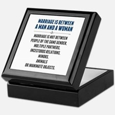 Marriage In America Keepsake Box