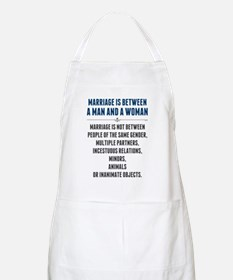 Marriage In America Apron