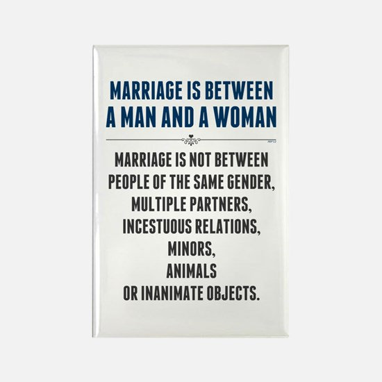 Marriage In America Rectangle Magnet