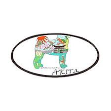 Akita national treasure Patches