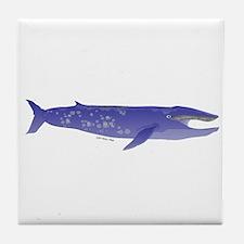 Blue Whale 2 Tile Coaster