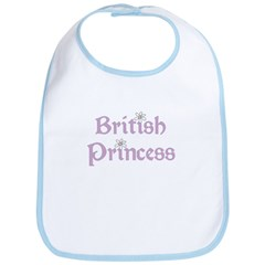British Princess Bib