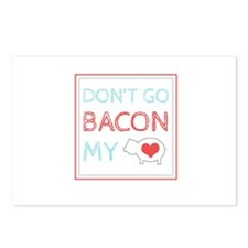 Bacon My Heart Postcards (Package of 8)