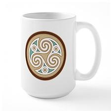 Triskele Celtic Spiral Mug (15oz)