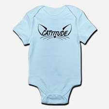 Cattitude Infant Bodysuit