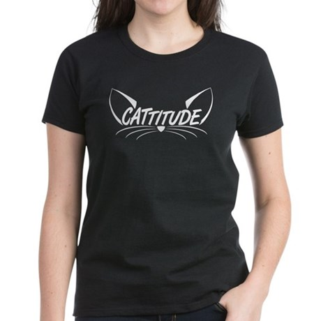 Cattitude Women's Dark T-Shirt