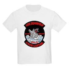 USS Seawolf SSN 21 Kids T-Shirt