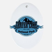 crater lake 3 Ornament (Oval)