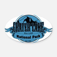 crater lake 3 Oval Car Magnet