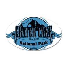 crater lake 3 Wall Decal