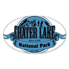 crater lake 1 Decal