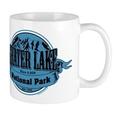 crater lake 1 Small Mug