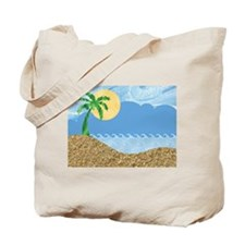 TROPICAL BEACH [1] Tote Bag