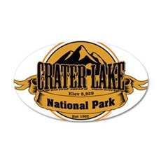 crater lake 4 Wall Decal