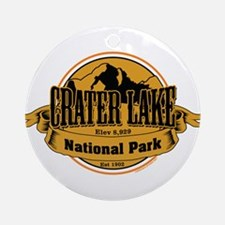crater lake 3 Ornament (Round)