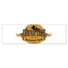 crater lake 3 Bumper Bumper Sticker