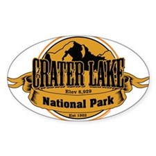 crater lake 3 Decal