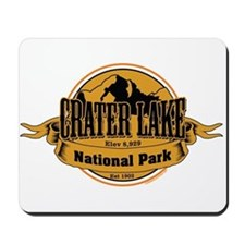 crater lake 3 Mousepad