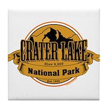 crater lake 3 Tile Coaster