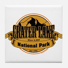 crater lake 3 Tile Coaster