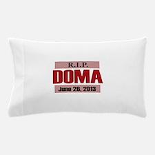 RIP DOMA Pillow Case