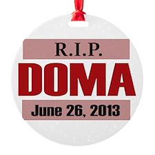 RIP DOMA Ornament