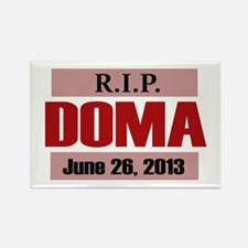 RIP DOMA Rectangle Magnet