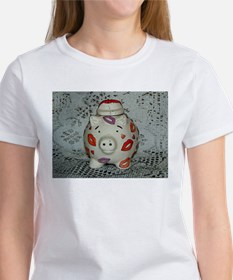 Adorable Lipstick Pig T-Shirt